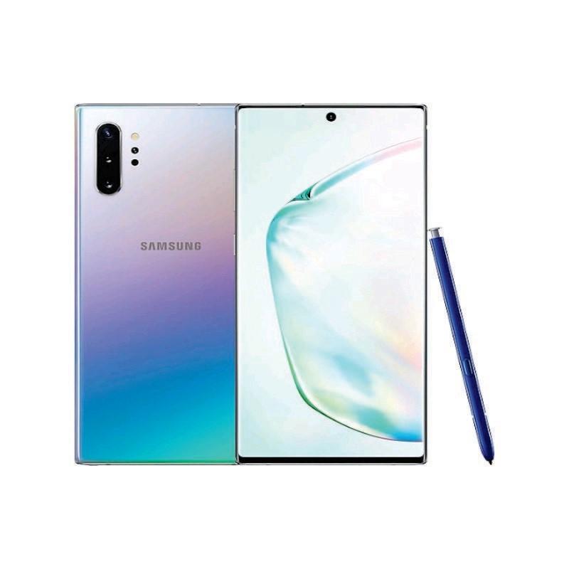 SAMSUNG - Galaxy Note 10+ 256 GB Aura Glow [SM-N975FZSDXID]