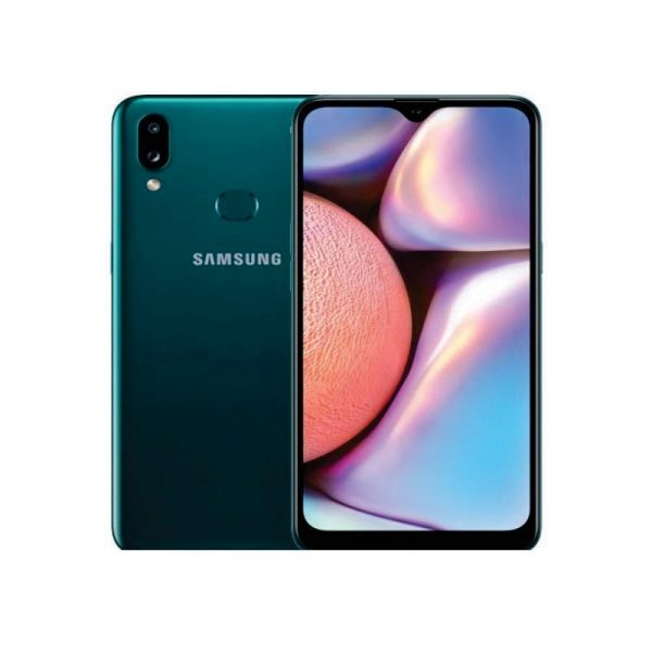 SAMSUNG - Galaxy A10S Green [SM-A107FZGDXID]