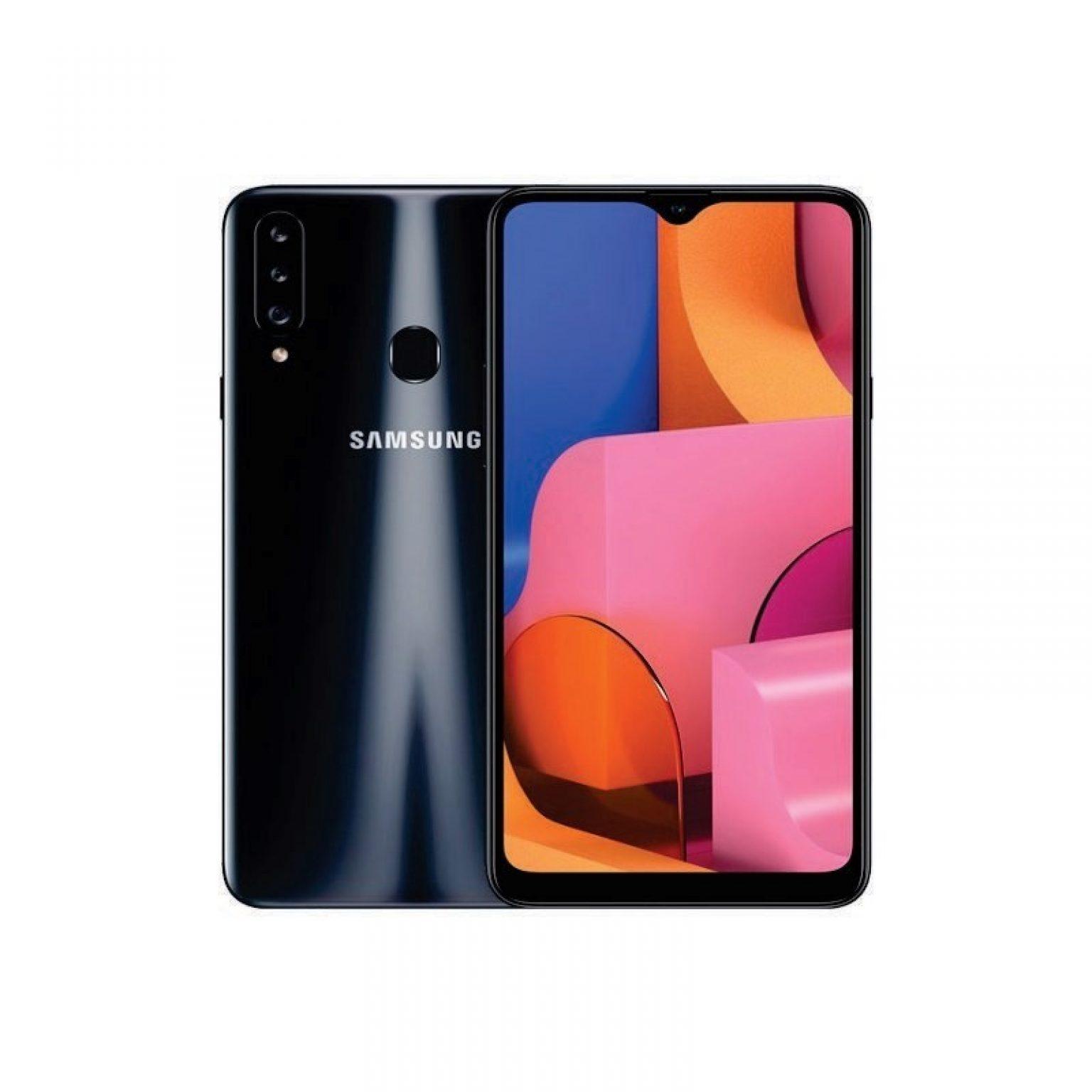 SAMSUNG - Galaxy A20s 32Gb Black [SM-A207FZKDXID]
