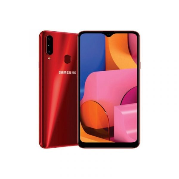 SAMSUNG - Galaxy A20s 32Gb Red [SM-A207FZRDXID]