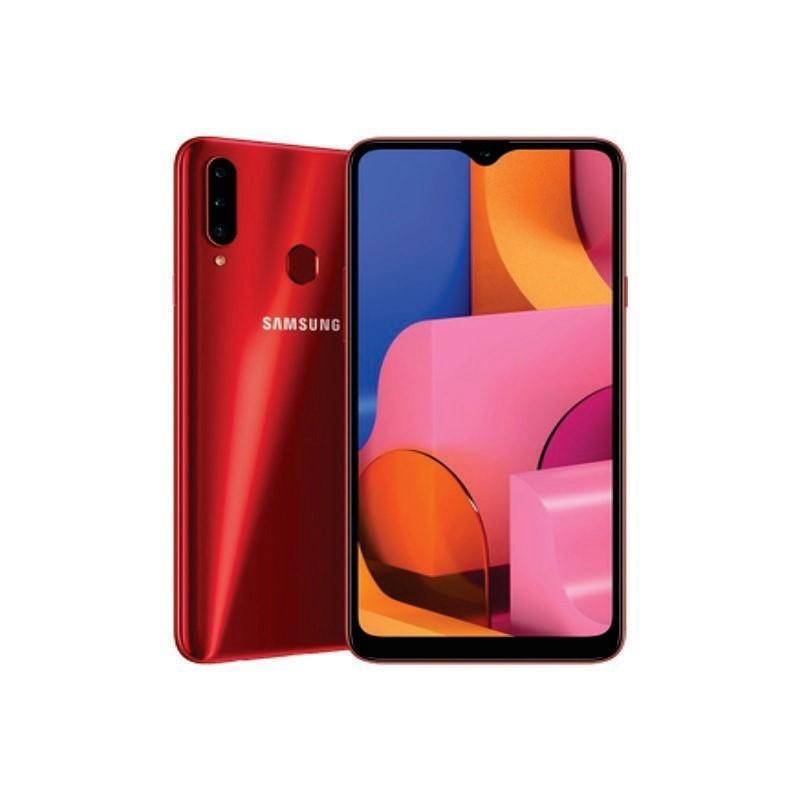 SAMSUNG - Galaxy A20s 32Gb Red [SM-A207FZRDXID]
