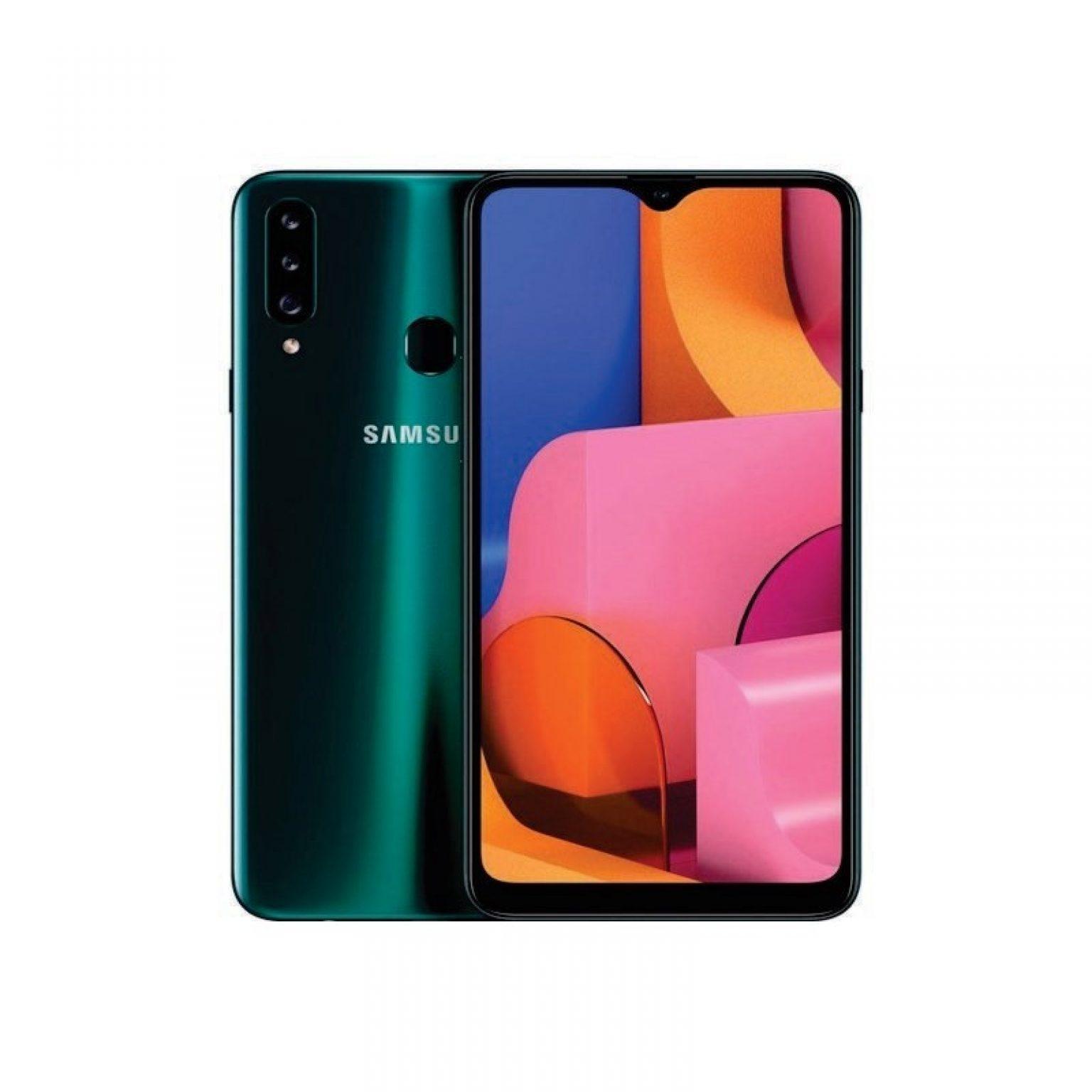 SAMSUNG - Galaxy A20s 64Gb Green [SM-A207FZGGXID]