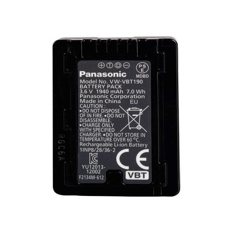 PANASONIC - VW-VBT190E-K Camcorder Battery