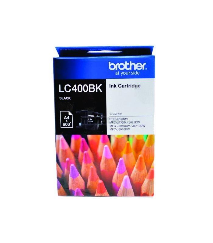 BROTHER - Black Ink LC-400BK