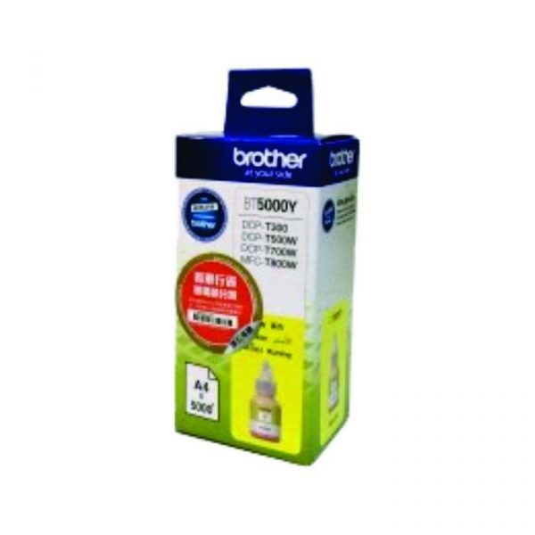 BROTHER - Yellow Refill Tank BT-5000Y
