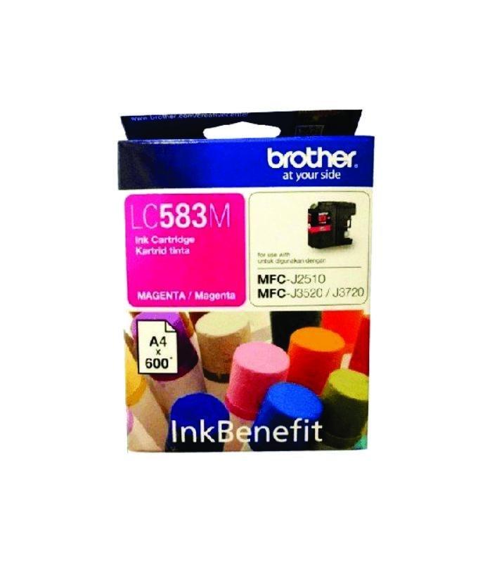BROTHER - Magenta Ink Cartridge LC-583M