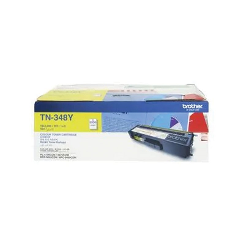 BROTHER - Yellow Toner Cartridge TN-348Y