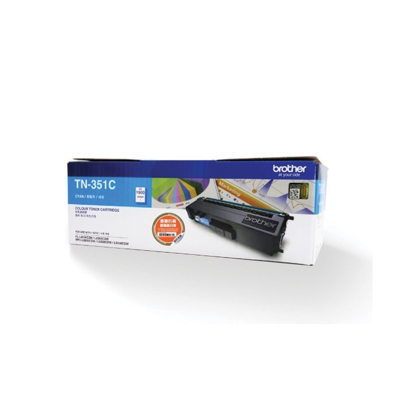 BROTHER - Cyan Toner Cartridge TN-351C