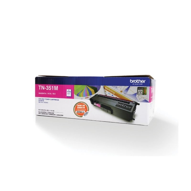 BROTHER - Magenta Toner Cartridge TN-351M