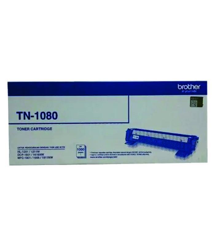 BROTHER - Black Toner Cartridge TN-1080