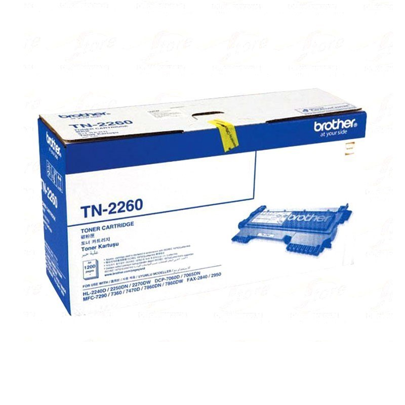 BROTHER - Black Toner Cartridge TN-2260