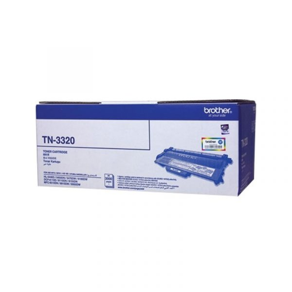 BROTHER - Black Toner Cartridge TN-3320