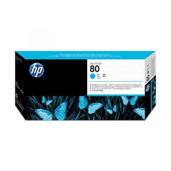 HP - No 80 Cyan Printhead [C4821A]