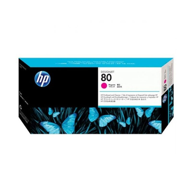 HP - No 80 Magenta Printhead [C4822A]