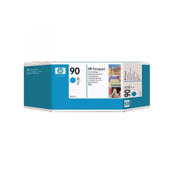 HP - 90 Cyan 225 ml Ink Cartridge [C5060A]