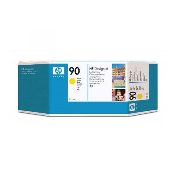HP - 90 Yellow 225 ml Ink Cartridge [C5064A]