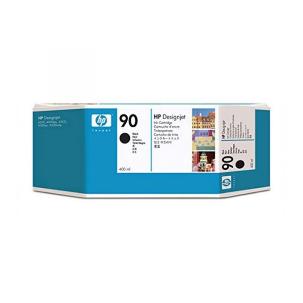 HP - 90 Black 400 ml Ink Cartridge [C5058A]