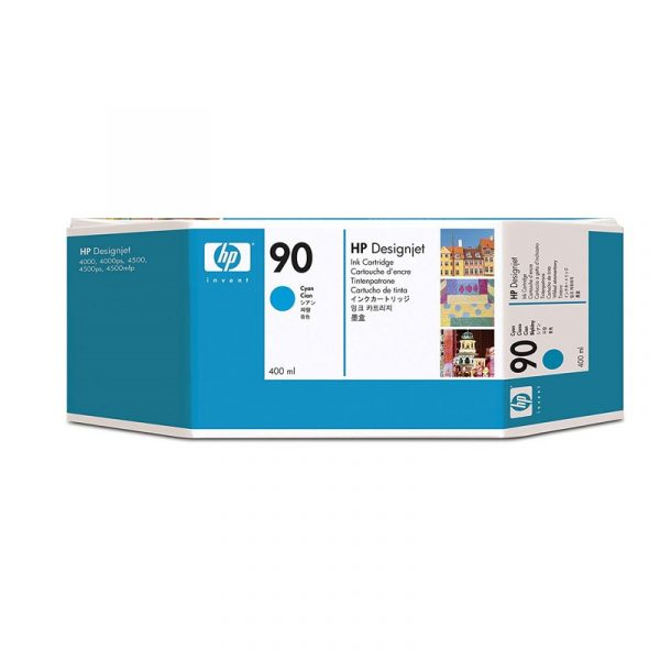 HP - 90 Cyan 400 ml Ink Cartridge [C5061A]