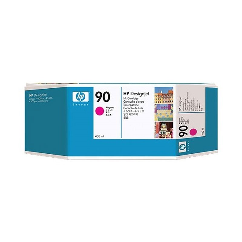 HP - 90 Magenta 400 ml Ink Cartridge [C5063A]
