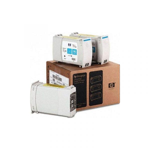 HP - 90 Cyan 3 Ink Cartridge Multi Pack [C5083A]