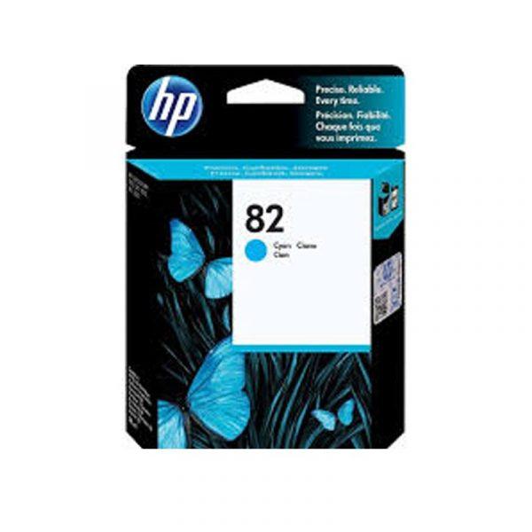 HP - 82 Cyan Ink Cartridge [CH566A]