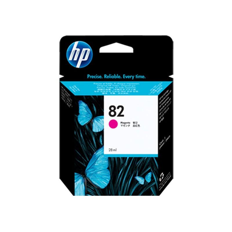 HP - 82 Magenta Ink Cartridge [CH567A]