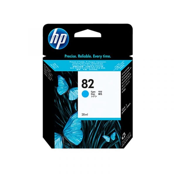 HP - No 82 Cyan Ink Cartridge [C4911A]
