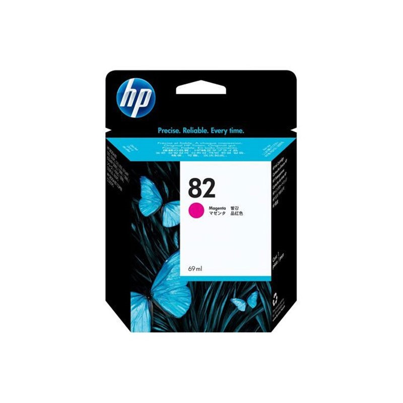 HP - No 82 Magenta Ink Cartridge [C4912A]