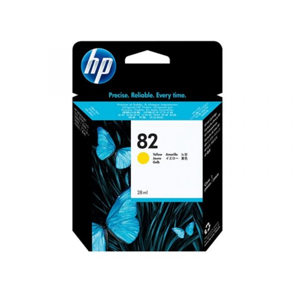 HP - No 82 Yellow Ink Cartridge [C4913A]