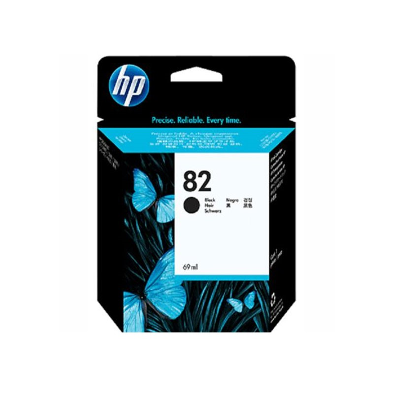 HP - 82 Black Ink Cartridge [CH565A]
