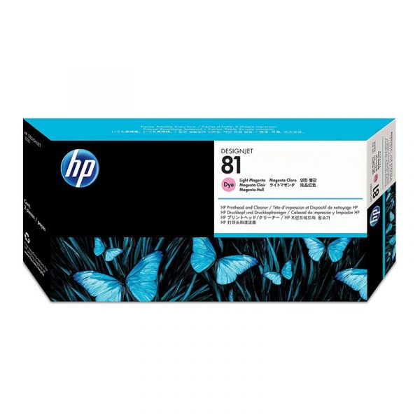 HP - 81 Lt Magenta Dye PH and Cleaner [C4955A]