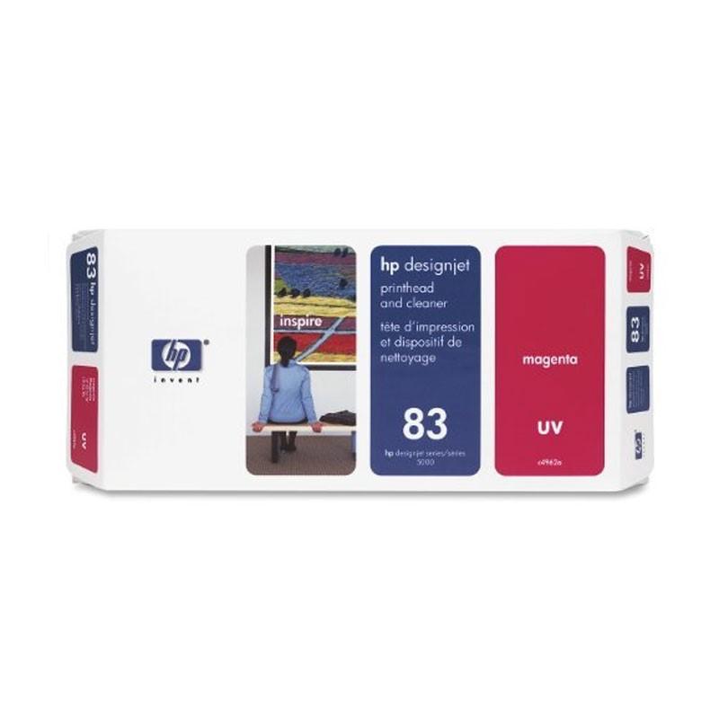 HP - No 83 UV Magenta PH and Cleaner [C4962A]