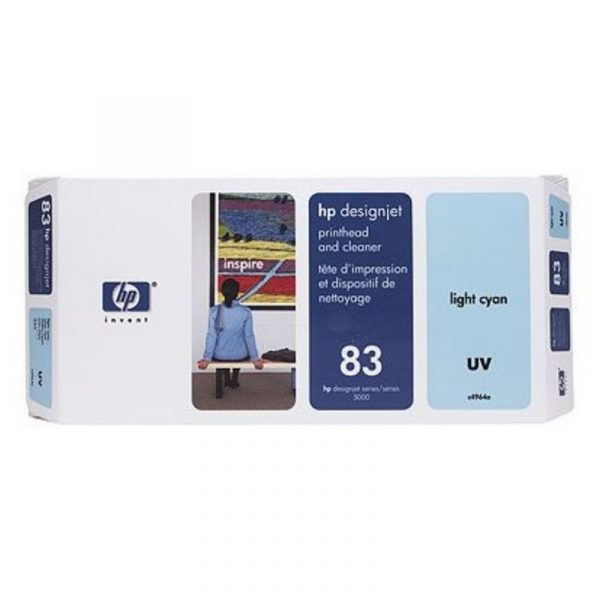 HP - No 83 UV Lt Cyan PH and Cleaner [C4964A]