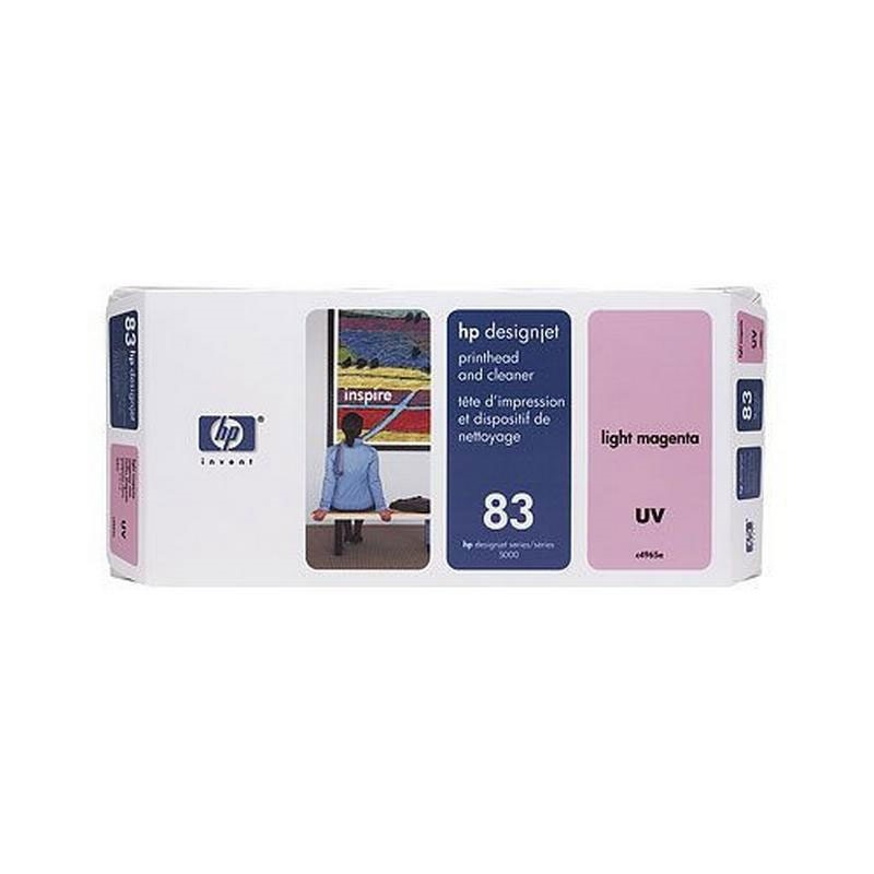 HP - No 83 UV Lt Magenta PH and Cleaner [C4965A]