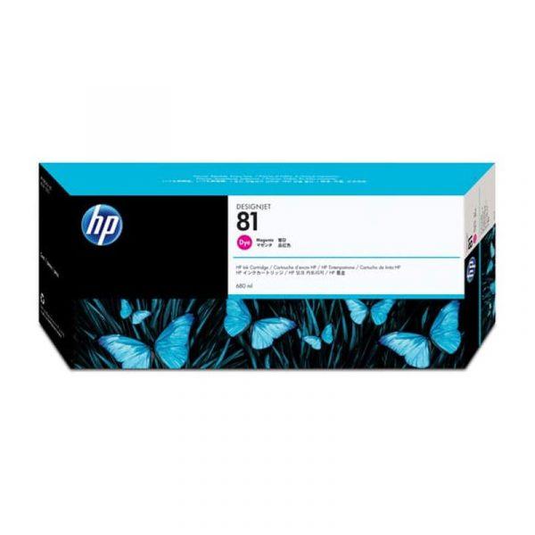 HP - 81 Magenta Dye Ink Cartridge [C4932A]