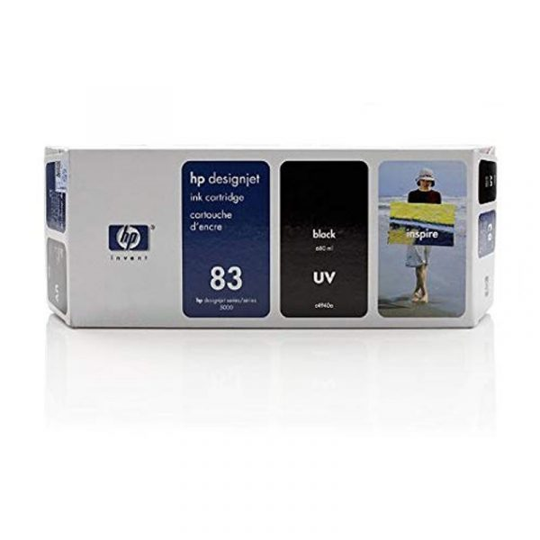 HP - No 83 UV Black Ink Cartridge [C4940A]