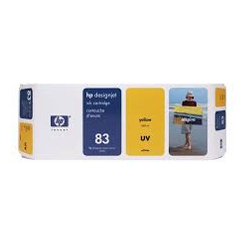 HP - No 83 UV Yellow Ink Cartridge [C4943A]