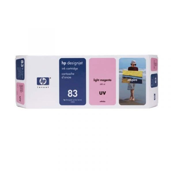 HP - No 83 UV Lt Magenta Ink Cartridge [C4945A]