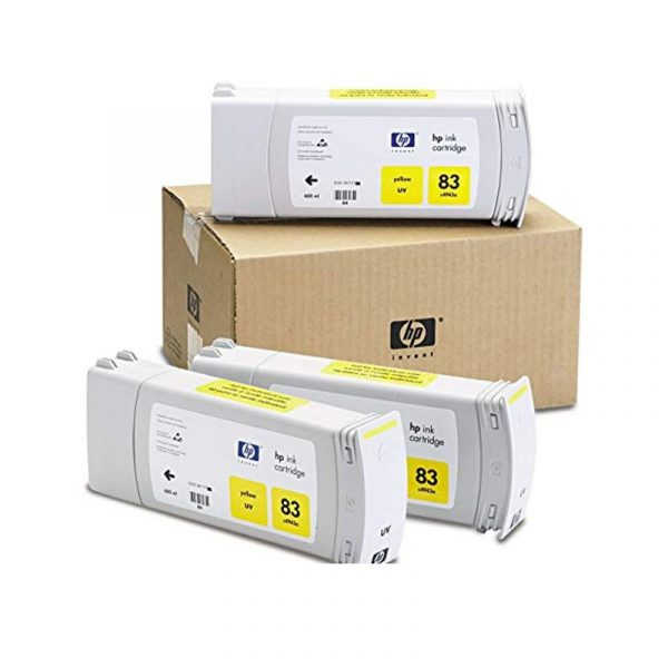 HP - 83 Yellow UV, 3 Ink Multi Pack [C5075A]