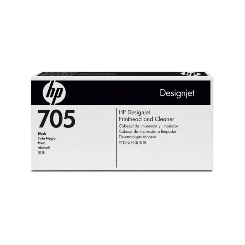 HP - Designjet 705 Blk Printhead & Cleaner [CD953A]