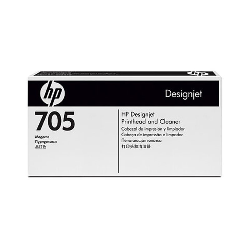 HP - Designjet 705 Mag Printhead & Cleaner [CD955A]