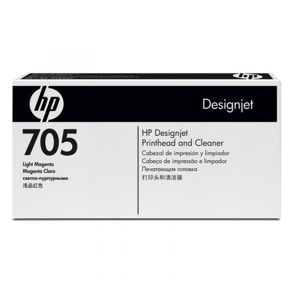 HP - Designjet 705 Lt Mag Prnthd & Cleaner [CD958A]