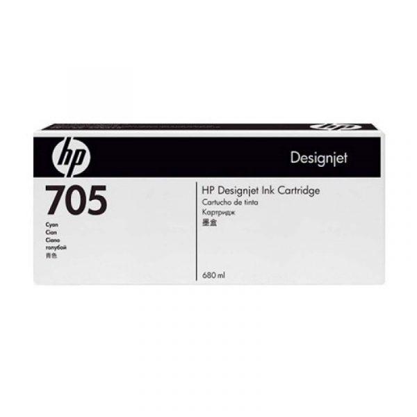 HP - Designjet 705 Cyan Ink Cartridge [CD960A]
