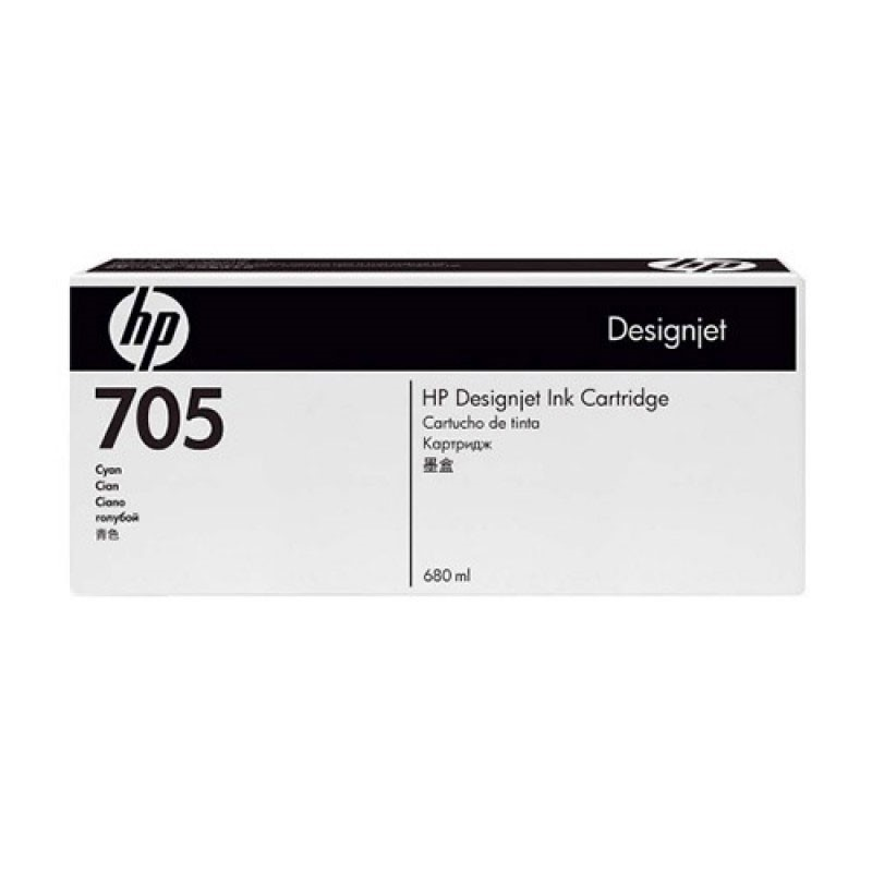 HP - Designjet 705 Cyan Ink Cartridge [CD960A]