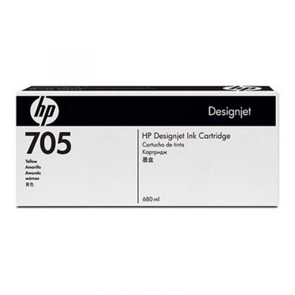 HP - Designjet 705 Yellow Ink Cartridge [CD962A]