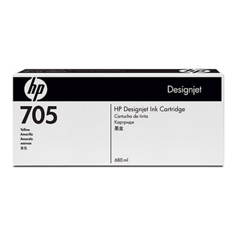 HP - Designjet 705 Yellow Ink Cartridge [CD962A]