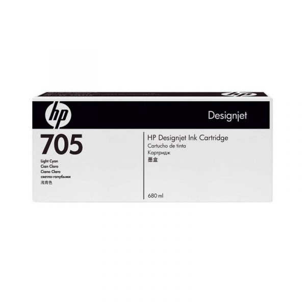 HP - Designjet 705 Lt Cyan Ink Cartridge [CD963A]