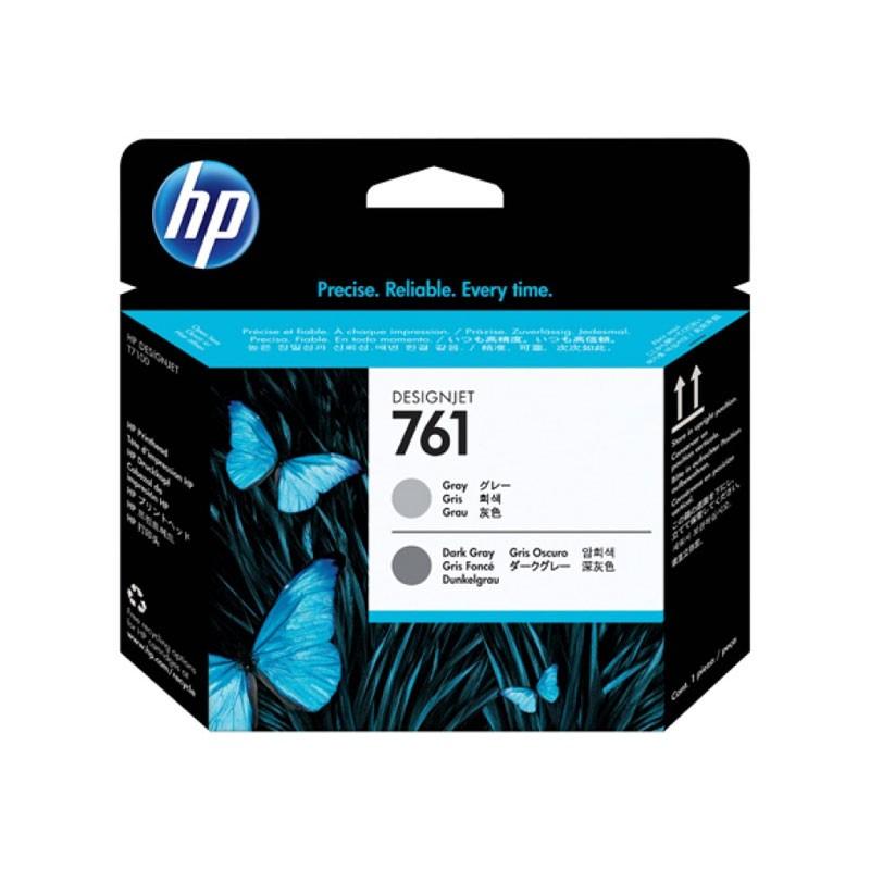 HP - 761 Gray & Dark Gray  Printhead [CH647A]