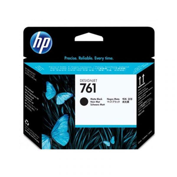 HP - 761 Mte Black & Mte Black Printhead [CH648A]