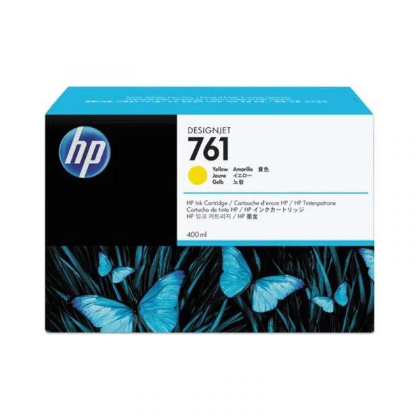 HP - 761 400ml Yellow  Ink Cartridge [CM992A]